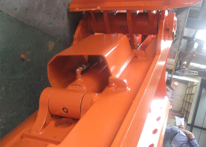 Hitachi ZX120 Tilt bucket with bolted cutting edge
