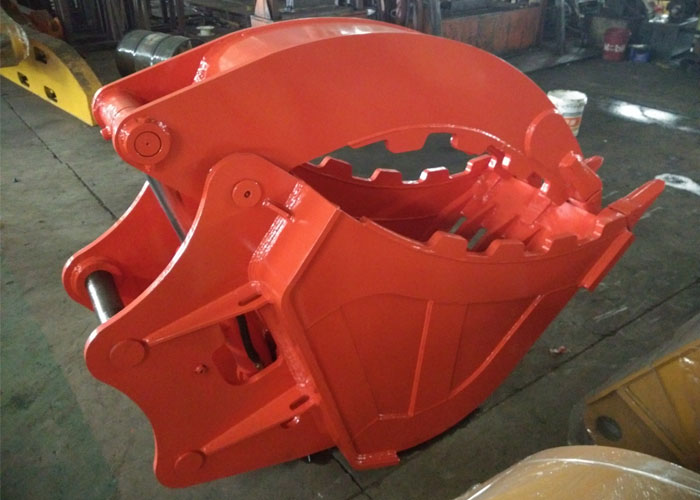 Doosan DX225 grating grab bucket